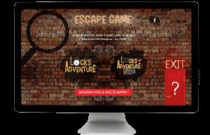 Site de réservation locksadventure