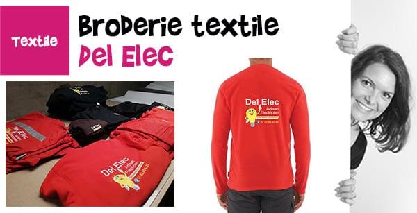 broderie textile del elec